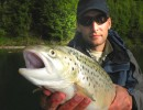 Personal Record Trout on Salmo Lures