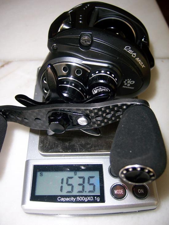 Abu MGX - 153.5g