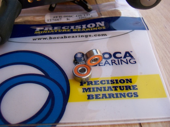 Boca Bearings Orange Seal, ABEC #7
